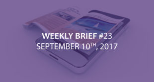 WeeklyBrief September 10th