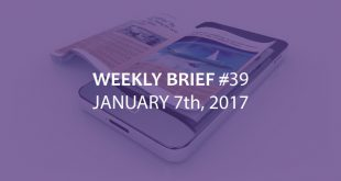 Weekly Brief January 7th 2018